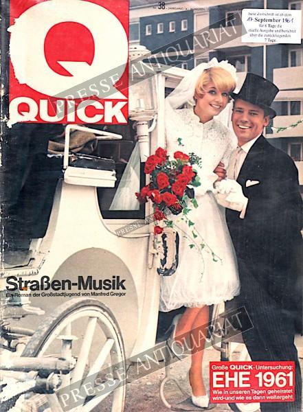 Quick Illustrierte, 17.09.1961 bis 23.09.1961