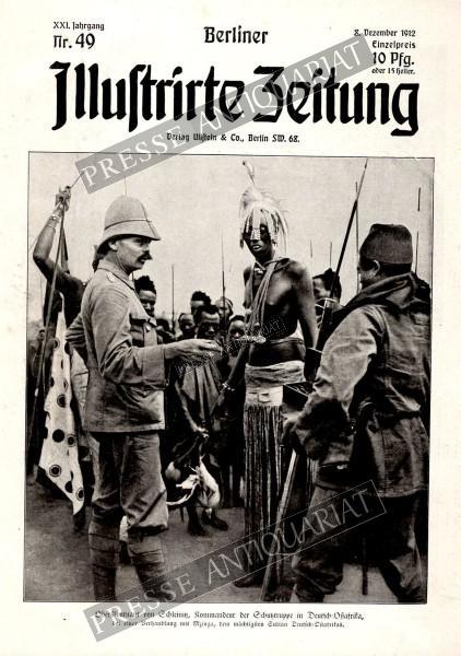 Berliner Illustrirte Zeitung, 08.12.1912 bis 14.12.1912