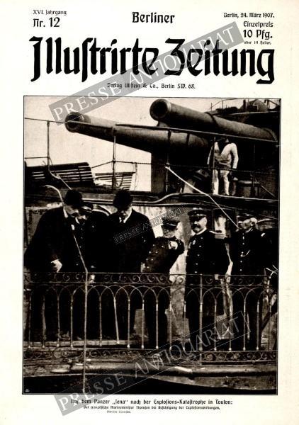 Berliner Illustrirte Zeitung, 24.03.1907 bis 30.03.1907
