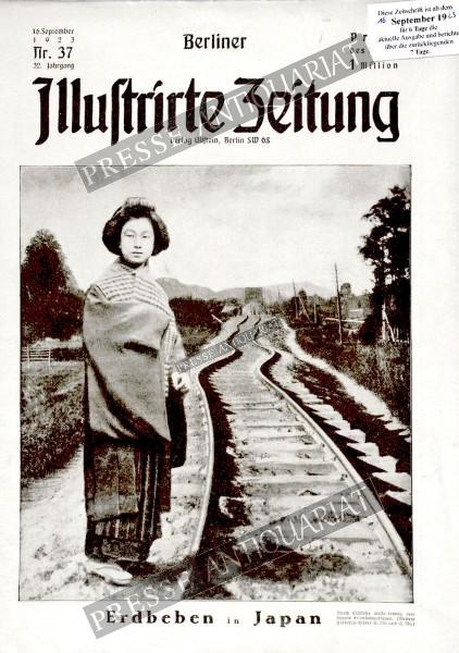 Berliner Illustrirte Zeitung, 16.09.1923 bis 22.09.1923