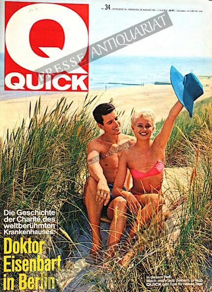 Quick Illustrierte, 20.08.1961 bis 26.08.1961