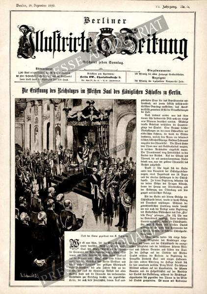 Berliner Illustrirte Zeitung, 18.12.1898 bis 24.12.1898