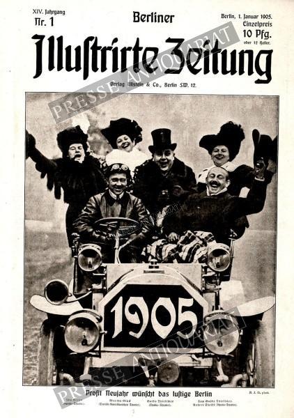 Berliner Illustrirte Zeitung, 01.01.1905 bis 07.01.1905
