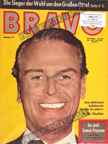 BRAVO Jugendzeitschrift, 05.03.1961 bis 11.03.1961