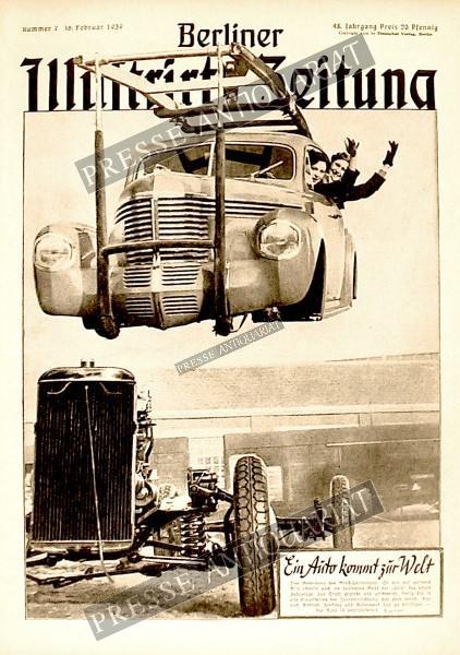 Berliner Illustrirte Zeitung, 16.02.1939 bis 22.02.1939