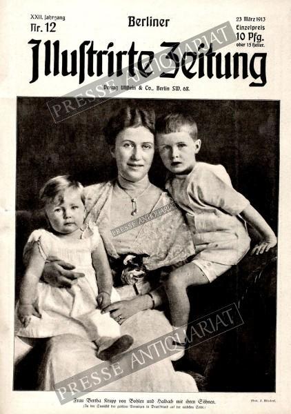 Berliner Illustrirte Zeitung, 23.03.1913 bis 29.03.1913