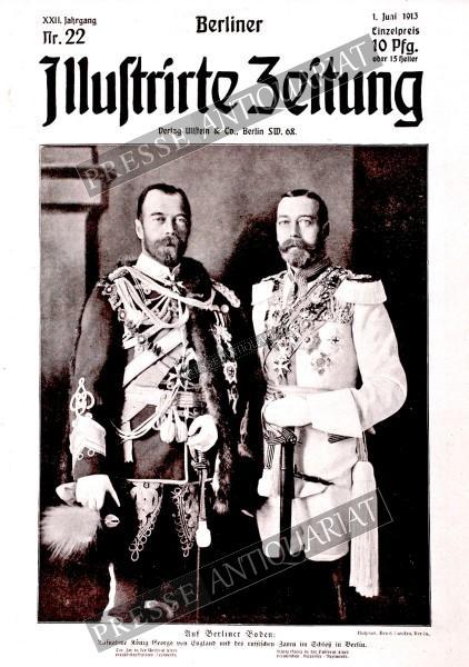Berliner Illustrirte Zeitung, 01.06.1913 bis 07.06.1913