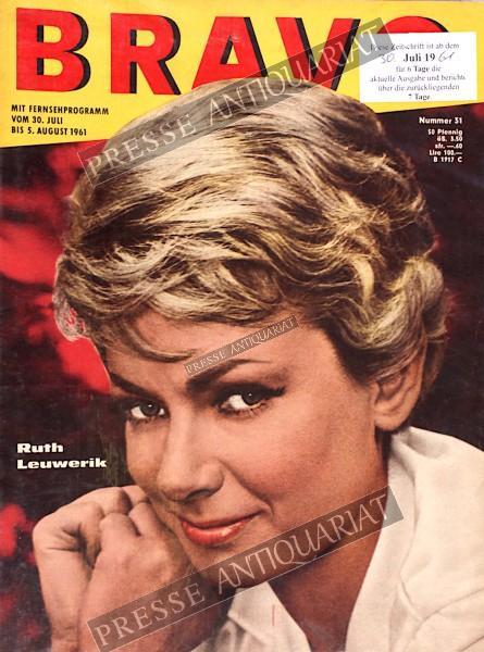 BRAVO Jugendzeitschrift, 30.07.1961 bis 05.08.1961
