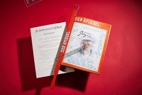 Edler Spiegel Zeitungsstock & Echtheitszertifikat