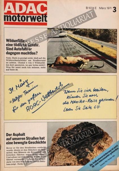 ADAC Motorwelt, 01.03.1971 bis 31.03.1971