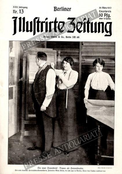 Berliner Illustrirte Zeitung, 30.03.1913 bis 05.04.1913