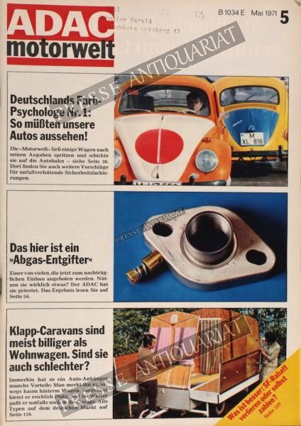 ADAC Motorwelt, 01.05.1971 bis 31.05.1971
