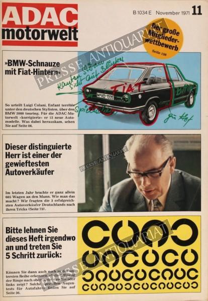 ADAC Motorwelt, 01.11.1971 bis 30.11.1971