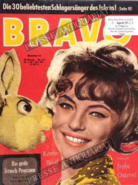 BRAVO Jugendzeitschrift, 02.04.1961 bis 08.04.1961