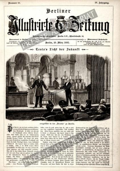Berliner Illustrirte Zeitung, 10.03.1895 bis 16.03.1895