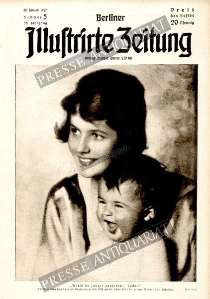 Berliner Illustrirte Zeitung, 30.01.1927 bis 05.02.1927