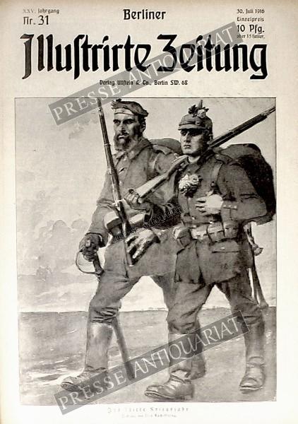 Berliner Illustrirte Zeitung, 30.07.1916 bis 05.08.1916