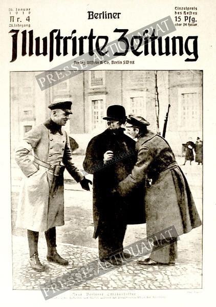 Berliner Illustrirte Zeitung, 26.01.1919 bis 01.02.1919