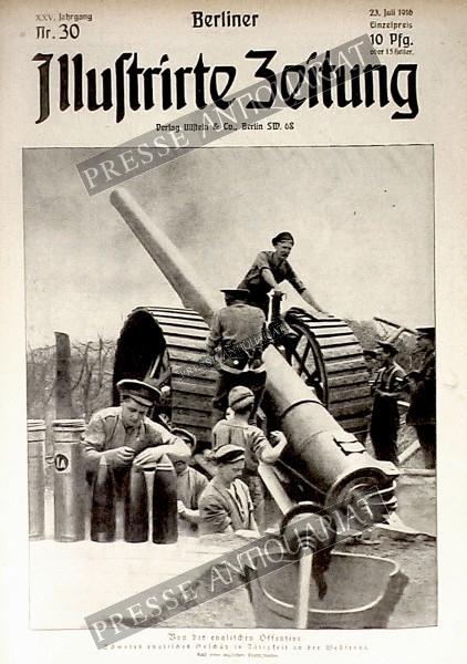 Berliner Illustrirte Zeitung, 23.07.1916 bis 29.07.1916