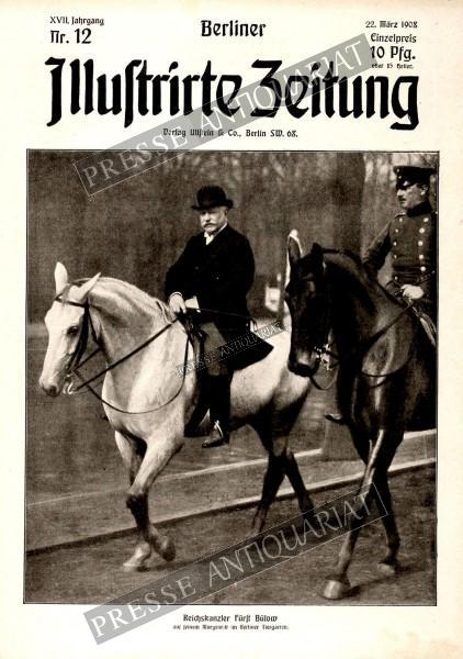 Berliner Illustrirte Zeitung, 22.03.1908 bis 28.03.1908