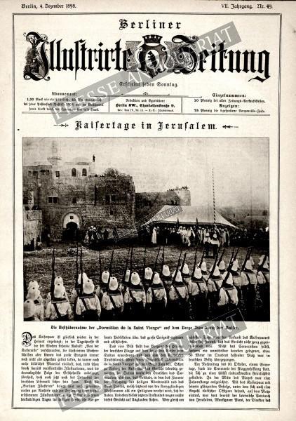 Berliner Illustrirte Zeitung, 04.12.1898 bis 10.12.1898