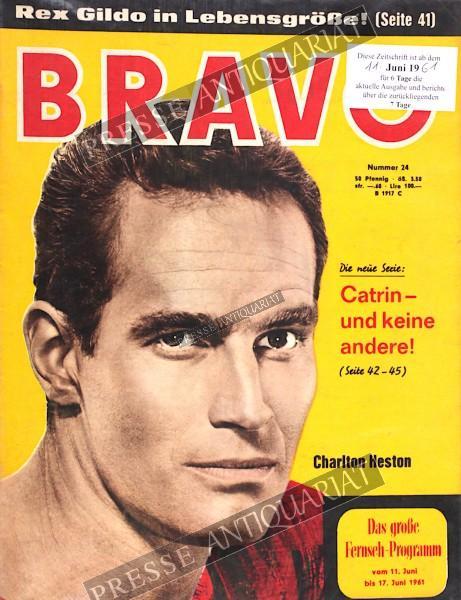 BRAVO Jugendzeitschrift, 11.06.1961 bis 17.06.1961