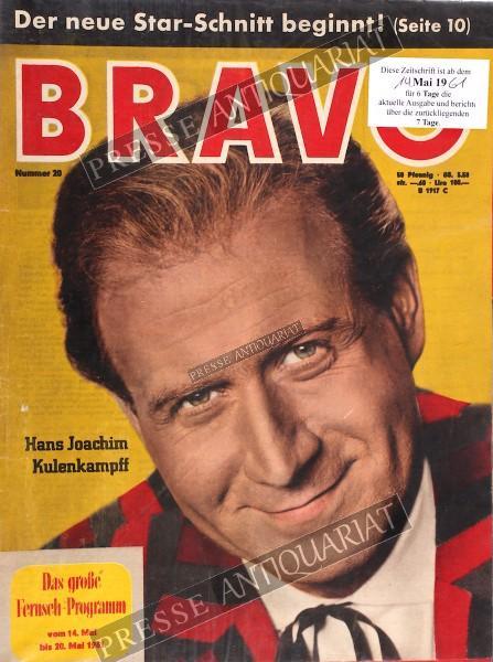 BRAVO Jugendzeitschrift, 14.05.1961 bis 20.05.1961