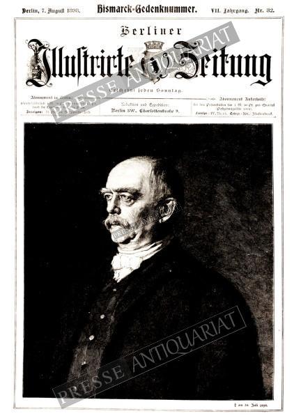 Bismarck-Gedenknummer. † am 30. Juli 1898.