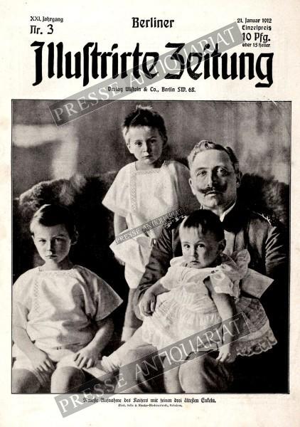 Berliner Illustrirte Zeitung, 21.01.1912 bis 27.01.1912