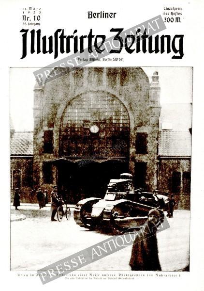 Berliner Illustrirte Zeitung, 11.03.1923 bis 17.03.1923