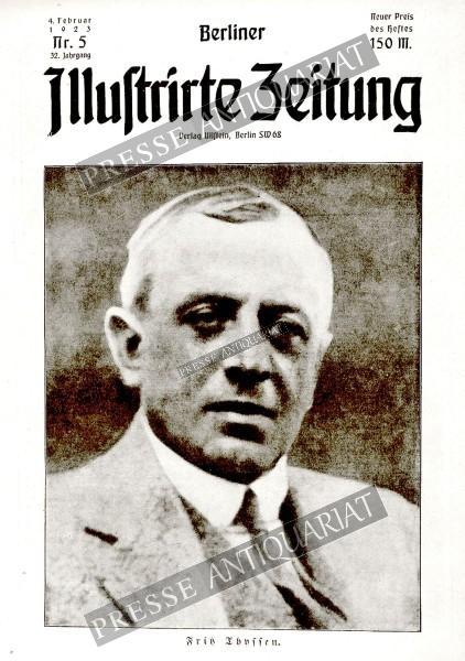 Berliner Illustrirte Zeitung, 04.02.1923 bis 10.02.1923