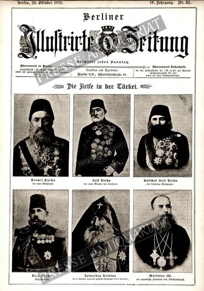 Berliner Illustrirte Zeitung, 20.10.1895 bis 26.10.1895