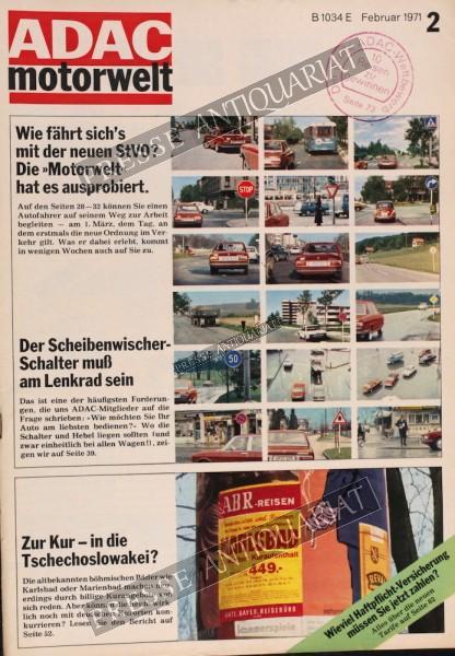 ADAC Motorwelt, 01.02.1971 bis 28.02.1971