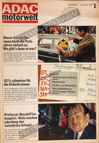 ADAC Motorwelt, 01.01.1971 bis 31.01.1971
