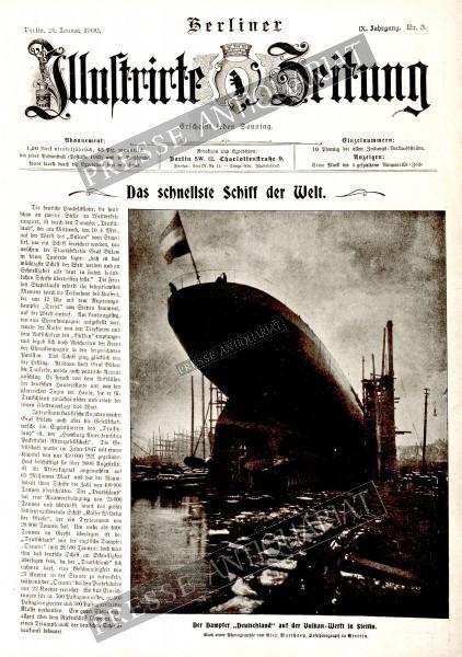 Berliner Illustrirte Zeitung, 21.01.1900 bis 27.01.1900