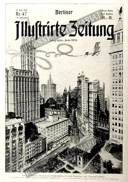 Berliner Illustrirte Zeitung, 19.11.1922 bis 25.11.1922