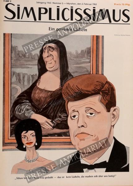 Simplicissimus, 02.02.1963 bis 08.02.1963