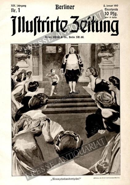 Berliner Illustrirte Zeitung, 02.01.1910 bis 08.01.1910
