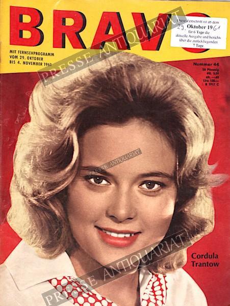 BRAVO Jugendzeitschrift, 29.10.1961 bis 04.11.1961