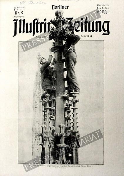 Berliner Illustrirte Zeitung, 27.02.1921 bis 05.03.1921