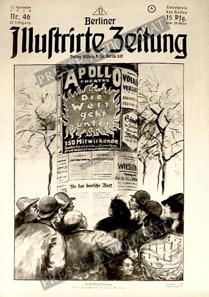 Berliner Illustrirte Zeitung, 17.11.1918 bis 23.11.1918