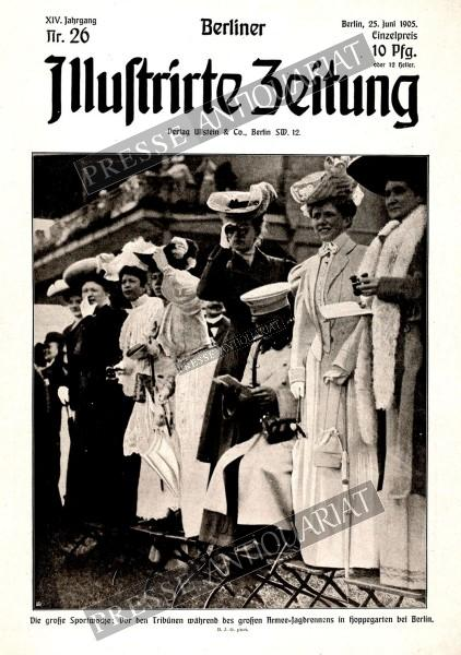Berliner Illustrirte Zeitung, 25.06.1905 bis 01.07.1905